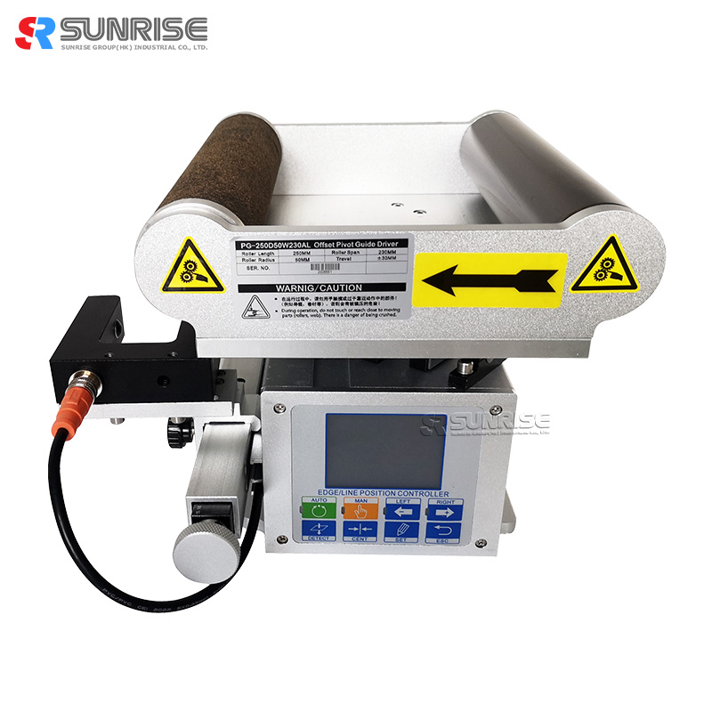 Center Position Control Mask Machine use Electric Web Guide Control System